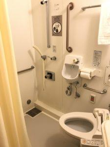 聖路加個室お手洗いとシャワー