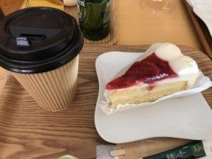 ブックス&カフェ ケーキ