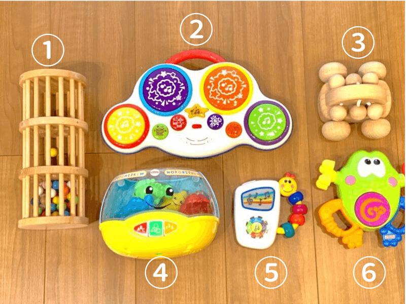 トイサブ!10カ月全部の知育玩具